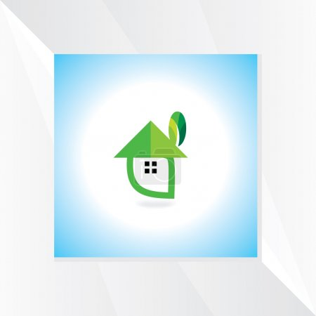 Illustration for House symbol vector - Royalty Free Image