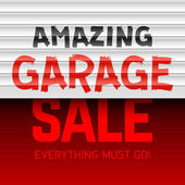 Amazing Garage Sale poster template