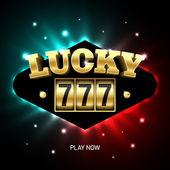 Lucky sevens slot machine