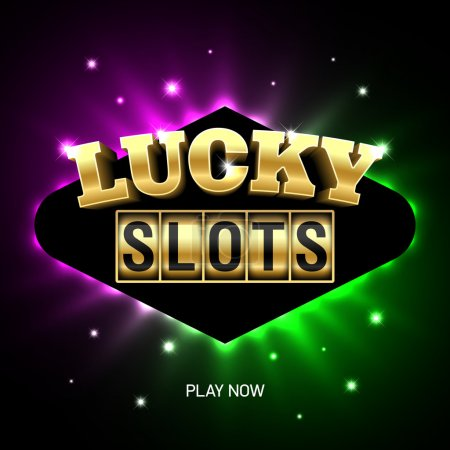 Slots casino banner.