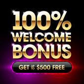 Welcome Bonus casino banner