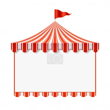 Circus advertisement background