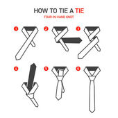 How to tie a tie instructions