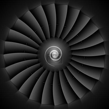 Jet engine turbine blades