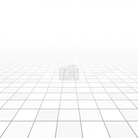 Illustration for Floor tiles perspective. Vector. - Royalty Free Image