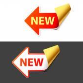 Podepsat nové v podobě šipky