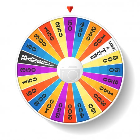 Illustration for Fortune Wheel. Vector. - Royalty Free Image