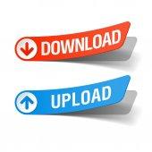 Download a upload popisků