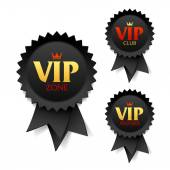 VIP zone club and member labels