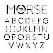 Morse Code letters