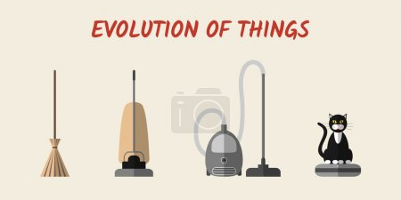 Evolution of cleaning devices