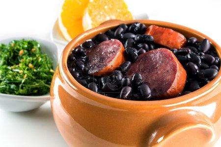 Typical brazilian dish feijoada