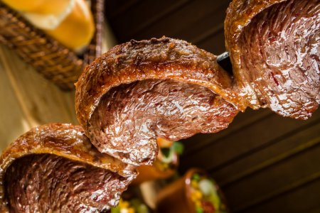 Photo for Traditional Brazilian barbecue Picanha - Royalty Free Image