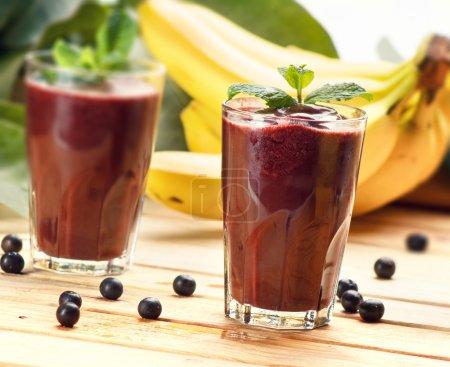 Acai Juice, super fruit smoothie