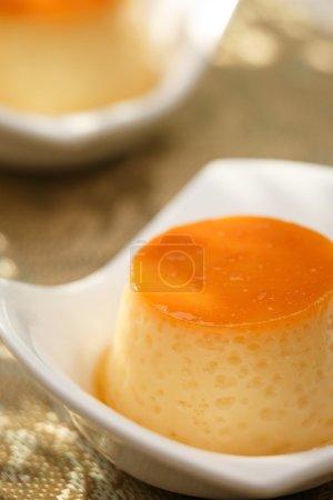 Pudding, delicious dessert