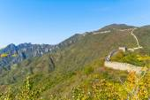Great Wall of China in Fall