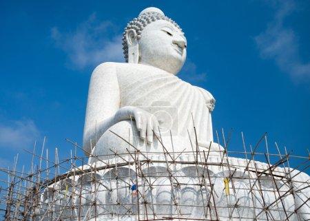 Big 45-meter Buddha monument