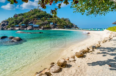 Photo for View of Nang Yuan island of Koh Tao island Thailand - Royalty Free Image