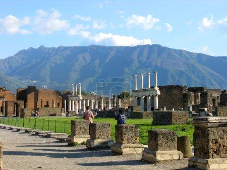 Ancient Roman city Pompeii