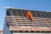 Instalace střechy
