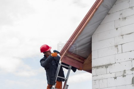installation of a roof
