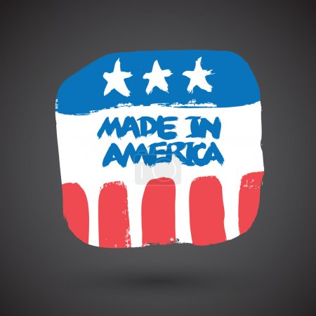 Made in USA retro sign
