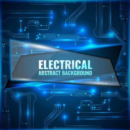 Electrical Abstract background background.