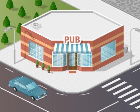 Illustration of shop.