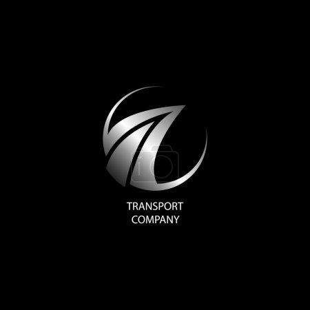 Photo for Transport company logo - Royalty Free Image