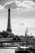 Paříž v černé a bílé