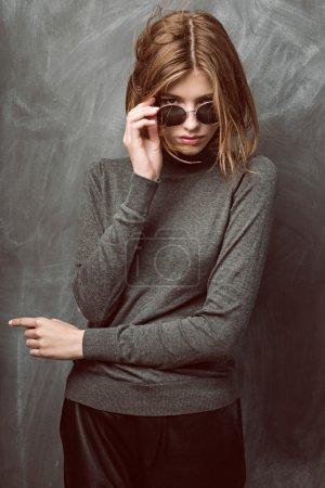 Young stylish woman