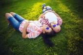 Odpočívat na trávě