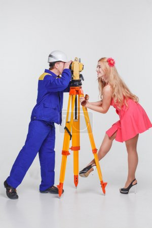 Builder pictures of girls