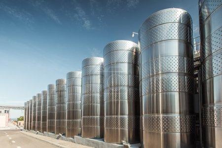 storage tanks for wine