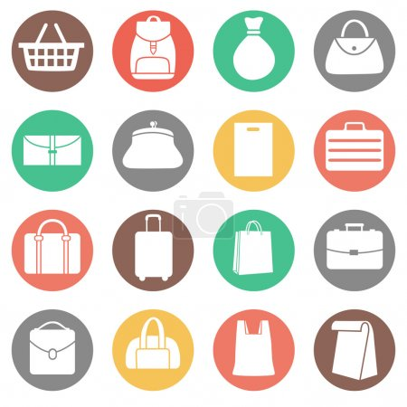 Set of Bags Icons