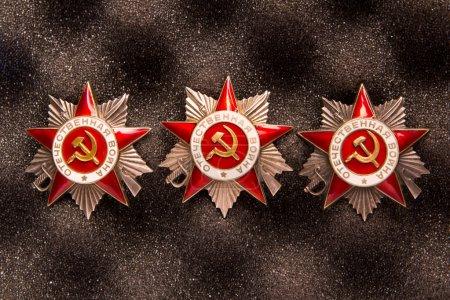 Набор советской военной звёзд