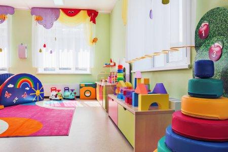Children's games room.