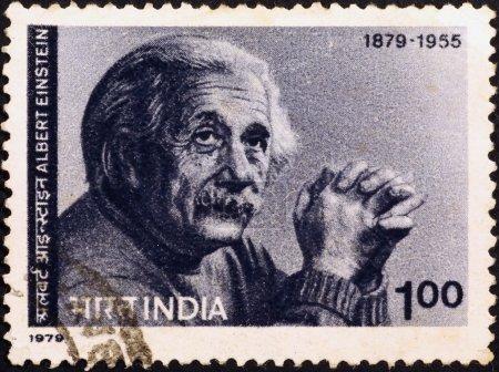 Альберт Эйнштейн портрет на почтовых