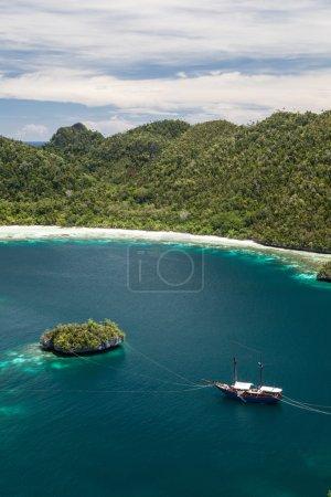 Tropical Limestone Islands in Raja Ampat