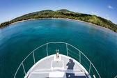 Paesaggio tropicale in Fiji
