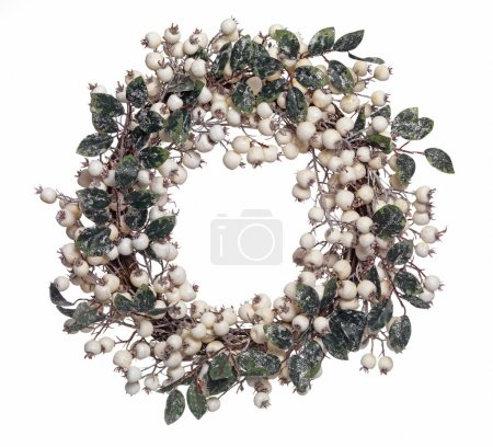 Photo for Isolated Christmas wreath - Royalty Free Image