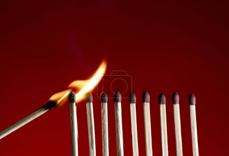 Flaming Matchstick