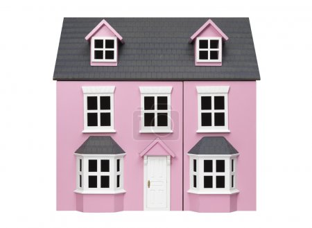 Model pink house