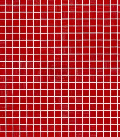Red Mosaic tile