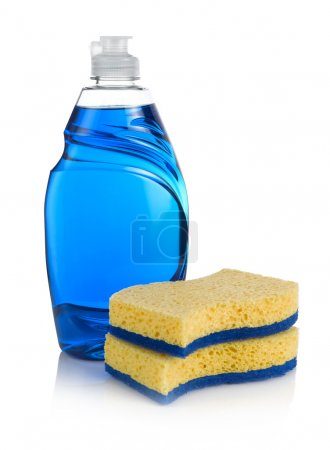 Blue Washing up Liquid