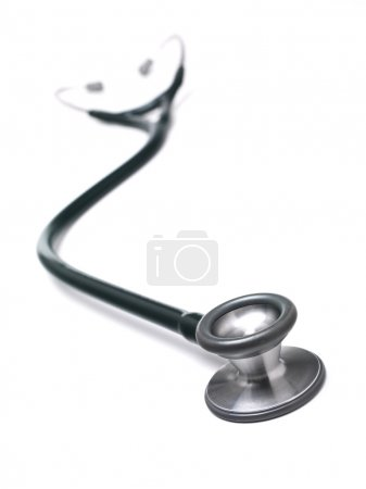 Beautiful stethoscope with reflection