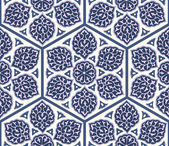 Traditional Arabic  ornament seamless Floral Ornamental pattern Background Vector  Iznik