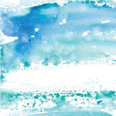 Watercolor abstract background Vector  Watercolor background of blue color