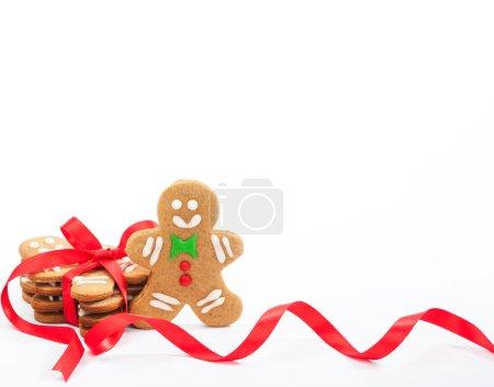 Cute Christmas gingerbread cookies