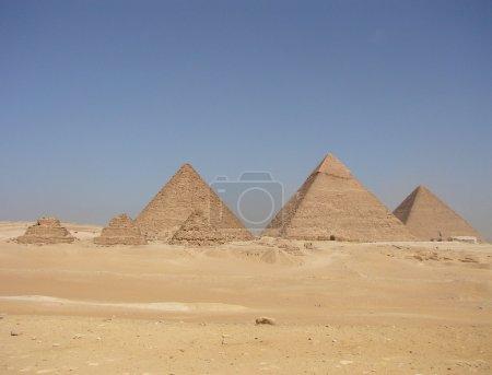 Big pyramids of Egypt